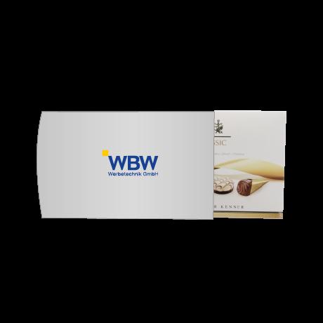 Lindt Pralinés mit individuell bedruckter Verpackung